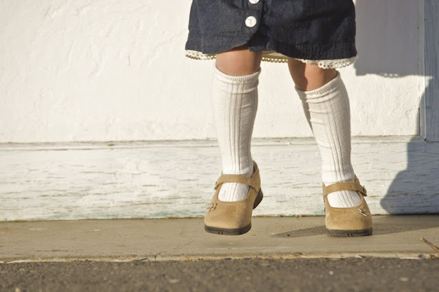 Tiny Tights To Knee High Socks