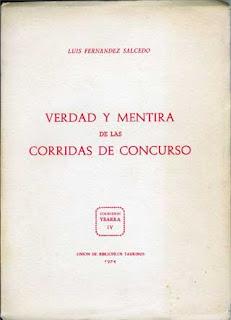 'Verdad y mentira de las corridas de concurso', por Luis Fernández Salcedo