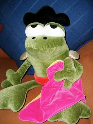 Jesulina, la rana torera