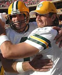 Packer Player Hugs