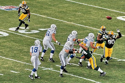 Colts versus Packers
