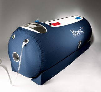 Packer players aj hawk 39 s hyperbaric oxygen chamber for Chambre hyperbare