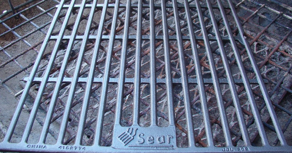 Outdoor Cooking Fun with Raceyb: Cast Iron Grilling Grate