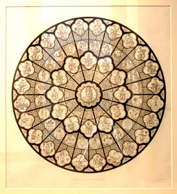 1 for Rose window design