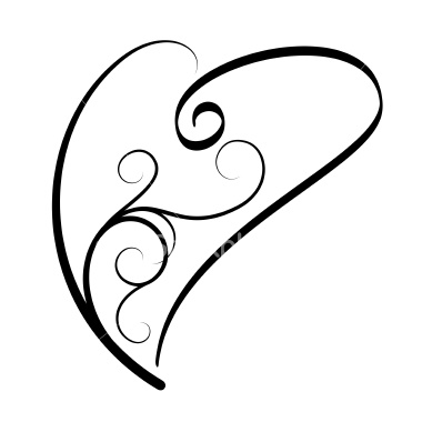 K Heart Tattoo ... shaded hearts indecision no money no tattoo yet what do ya ll think
