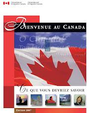 Bienvenue au Canada. Lo que debe saber el inmigrante
