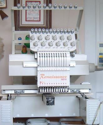 renaissance mini embroidery machine
