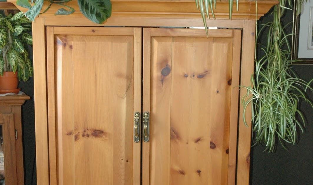 L 39 artisan amateur armoire meuble t l for Meuble tele armoire