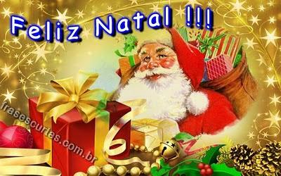feliz natal - papai noel