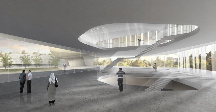 Construere somnus museo de la tolerancia mot jerusalen for Mot architecture