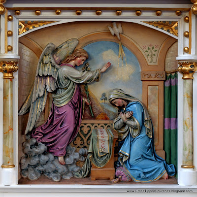 Relief Sculpture of the Annunciation
