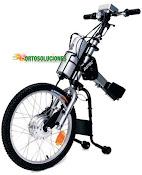 Bicicleta para una silla de ruedas