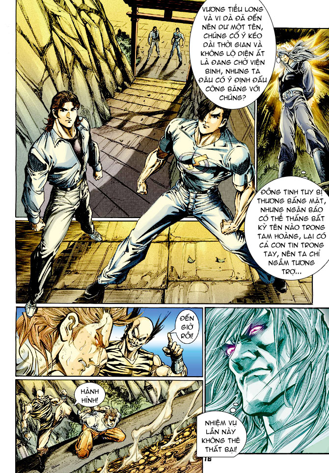 Tân Tác Long Hổ Môn chap 114 - Trang 15