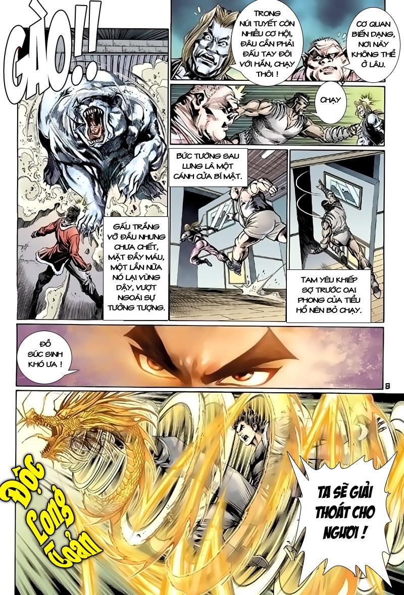 Tân Tác Long Hổ Môn chap 117 - Trang 8
