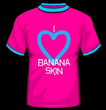 banana skin t shirt text generator
