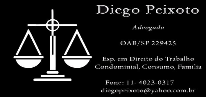 Advogado Diego Peixoto