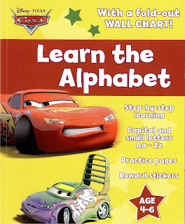 DISNEY CARS, Learning ABC Letter Alphabets - YouTube
