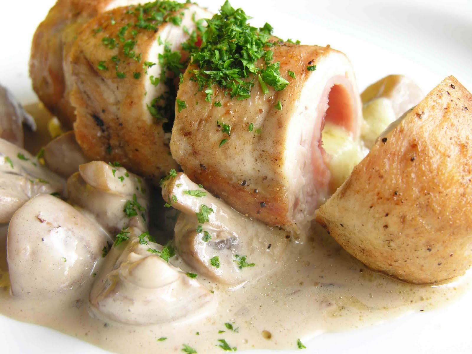 chicken cordon bleu casserole open face chicken cordon bleu chicken ...