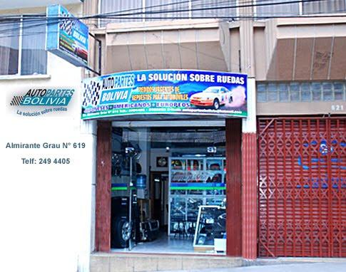 Autopartes Bolivia, la tienda
