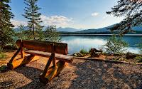 paisagem no lago