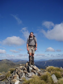 Craig, on top of Mitre
