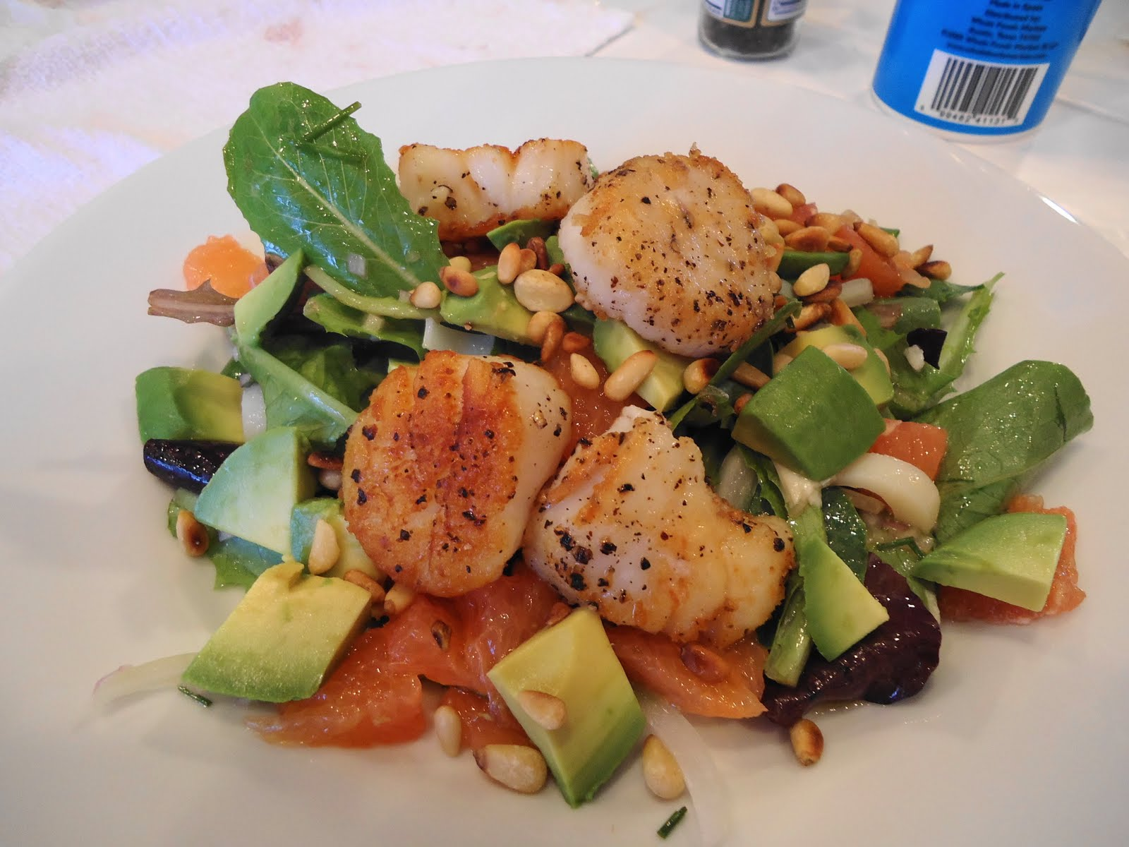 citrus scallop summer salad recipes dishmaps citrus scallop summer ...