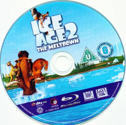 Ice Age 2 The Melt Down DVD