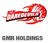 Delhi Dare Devils - GMR Holdings