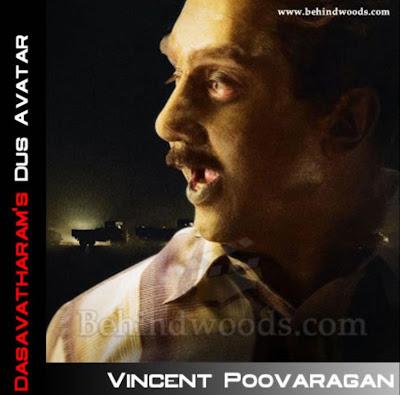 Kamal Hasan in Dasavatharam as Vincent Poovaragan