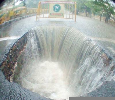 Chennai Niagara Falls - Big Pot Hole