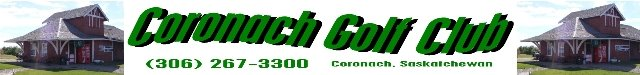 Coronach Golf Course