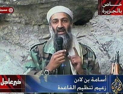 Ben Laden was the Al Qaeda. Osama in Laden on an al-Qaeda