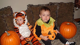 A Tiger and a Pumpkin!