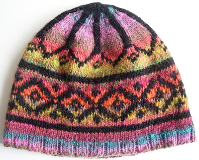 Noro Hooded Jacket - Needle felting, vermont yarn, knitting yarn