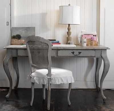 Little lovables white black gray paint - Gray shabby chic furniture ...