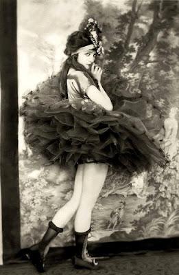 ballerina, tutu, gothic, victorian, flapper, ziegfeld, girl, model, fashion, image