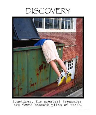 dumpster diving, thrifty