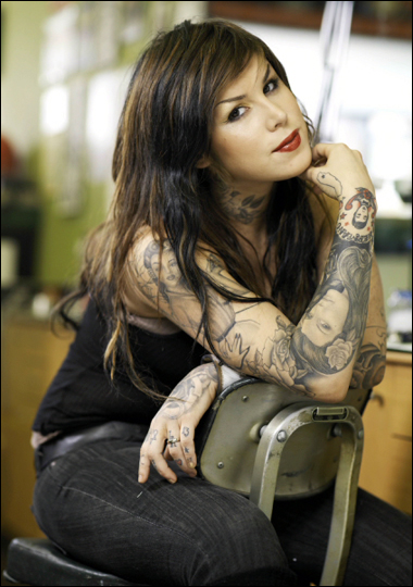 tattoos kat von d. Kat Von - D Tattoo Collection