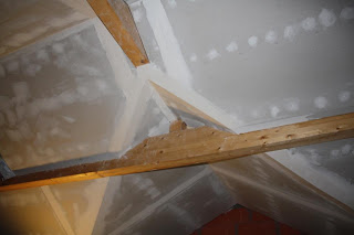 autoconstruction de notre maison placo plafond et fa ade. Black Bedroom Furniture Sets. Home Design Ideas