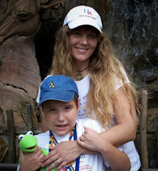 Dustin & Mommy At  Animal Kingdom