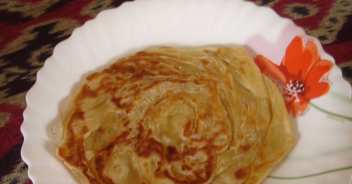 how to make roti canai step by step