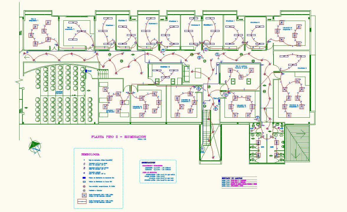 Proyecto e instalaciones electricas abril 2010 - Instalacion electrica vista ...