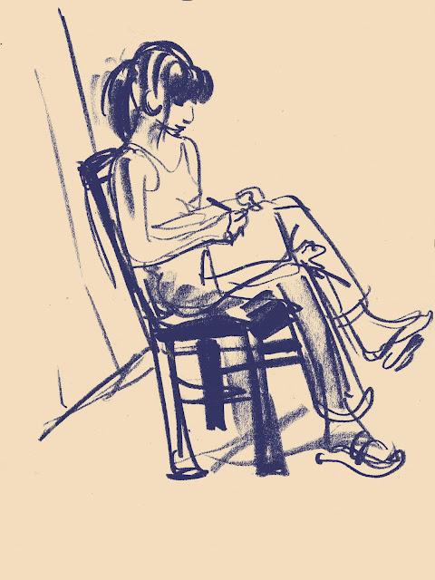 Maud écrit