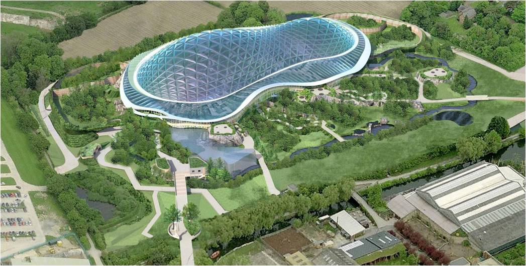 Chester Zoo New Biodome The Heart Of Africa Kuriositas - Heart-of-africa-biodome-at-chester-zoo