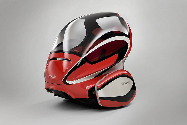 The en v is this the car of the future kuriositas for General motors electric car
