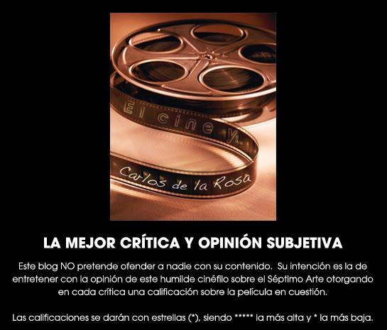 El cine y... Carlos de la Rosa