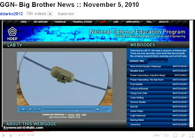 YouTube : new, infinite power, flying spy cams ... implicitly criminalizing you and all others who would contemplate dissent