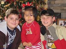 Jacob, Mei-Mei, and Luke