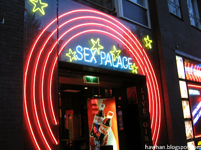Live sex show? Peep show? Erm... you have can it all in red light district.