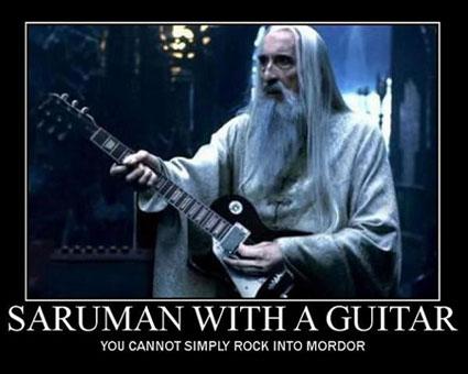 Guitar Saruman